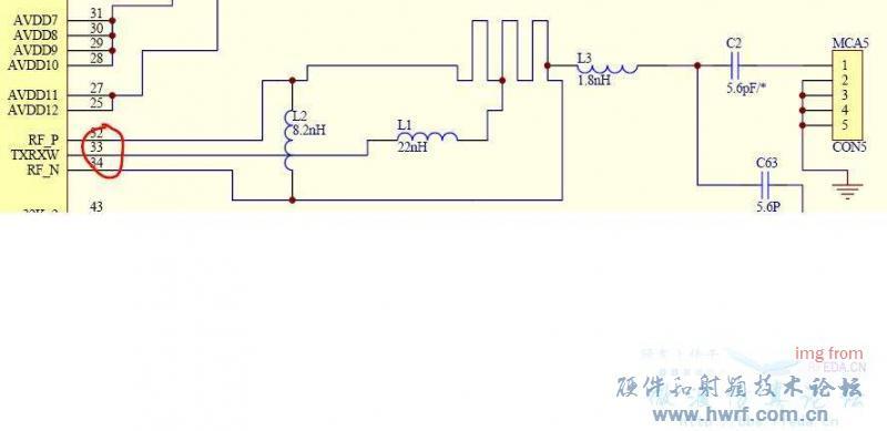 巴伦的参考设计电路